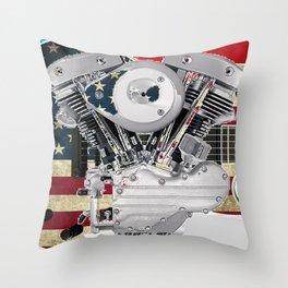 Americarnal Throw Pillow