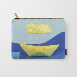 The yellow cloud over the yellow ship Carry-All Pouch