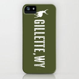 Deer: Gillette, Wyoming iPhone Case