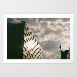 Glass Building Art Print