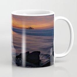 28th Street Jetty Sunrise Coffee Mug