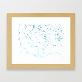 Above the Water Framed Art Print