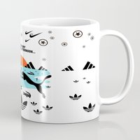 shoe Mugs featuring Shoe Artwork by SOULTHROW