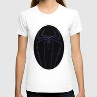 duvet cover T-shirts featuring SPIDER DUVET COVER by aztosaha