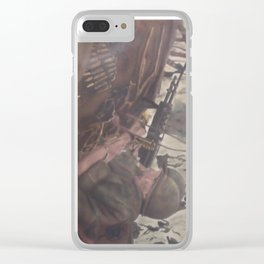 In the Shadows Clear iPhone Case