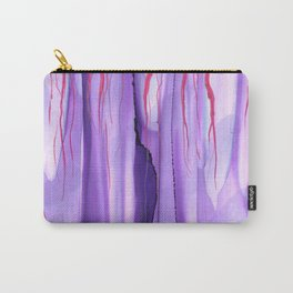 #009 - Pink Purple Drips Carry-All Pouch