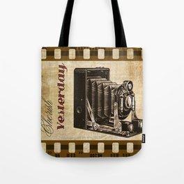 Cherish Yesterday Tote Bag