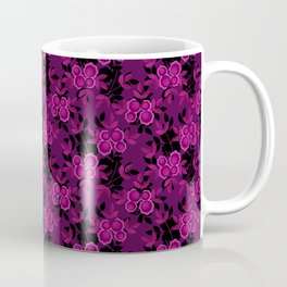 Floral pattern with flowers gzhel Coffee Mug