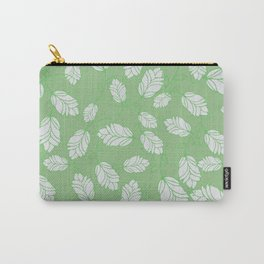 Bright Green Spring Leaves | Nature Patterns Carry-All Pouch