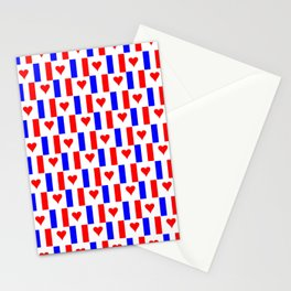 Flag of France 16- France, Français,française, French,romantic,love,gastronomy Stationery Cards