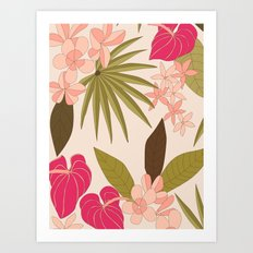Honolulu Art Print