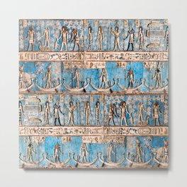 Egyptian Pattern IV Metal Print