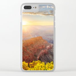 Sunset at Grand Canyon Clear iPhone Case