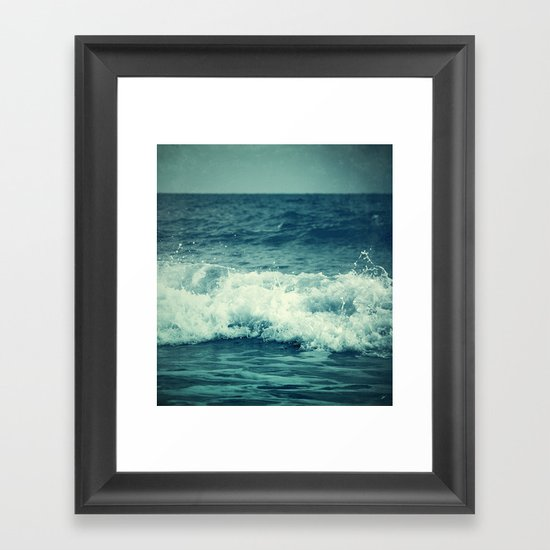 The Sea II. (Sea Monster) Framed Art Print