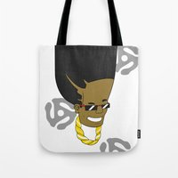 1989 Tote Bags featuring EGO 1989 by Six10 Design