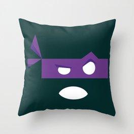 Purple Turtle Throw Pillow
