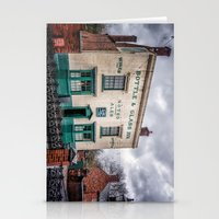 bar Stationery Cards featuring Victorian Bar by Adrian Evans