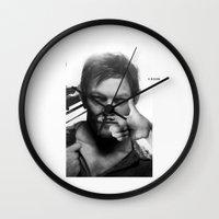 daryl Wall Clocks featuring Daryl  by Adel