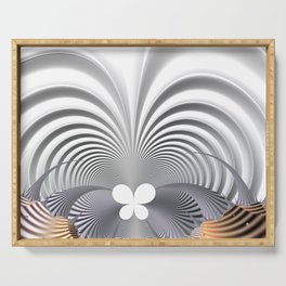 Butterfly effect Serving Tray