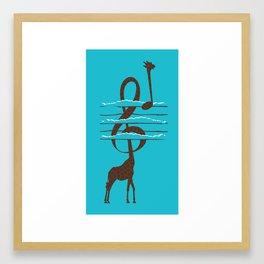 High Note Framed Art Print