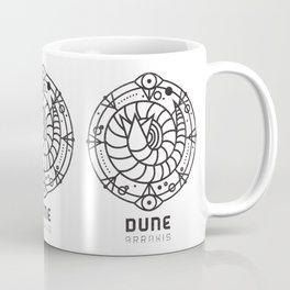 SANDWORM: ARRAKIS BADGE Coffee Mug