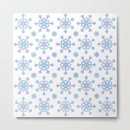 Let it Snow Mix 5 Metal Print