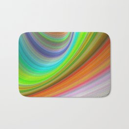 Color illusion Bath Mat