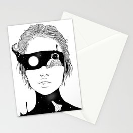 If I Could Just See You from Up Here Stationery Cards