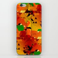 blackhawks iPhone & iPod Skins featuring Here come the... by KRArtwork