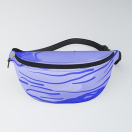 abstract style aurora borealis absdb Fanny Pack