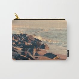 SUNSET AT THE BEACH / Hvide Sande, Denmark Carry-All Pouch