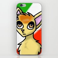 hetalia iPhone & iPod Skins featuring Nekotalia! Italy by Darkerin Drachen