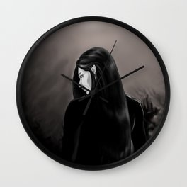 The Inner Demon Wall Clock