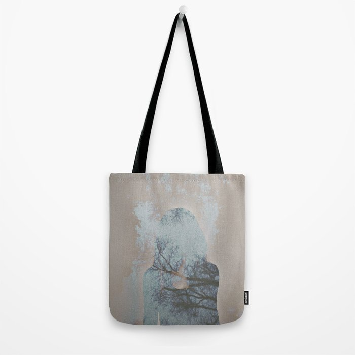 A Ghost in the Trees Tote Bag
