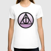 deathly hallows T-shirts featuring Deathly Hallows by AriesNamarie