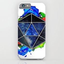 d20 Icosahedron of Imagination iPhone Case