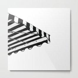 Zebra parasol Metal Print