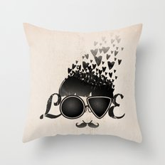 Blind Love Throw Pillow