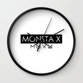 MONSTA X Wall Clock