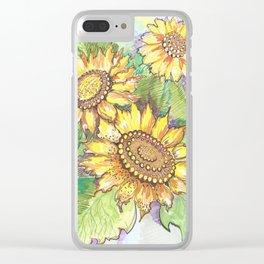 tournesol Clear iPhone Case