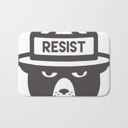 Bear Hat is Resist Bath Mat