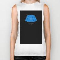 jellyfish Biker Tanks featuring Jellyfish by Abel Fdez