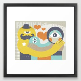 Family. Framed Art Print