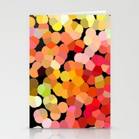 confetti Stationery Cards featuring Confetti by Rosie Brown