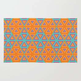 triangles2 Rug