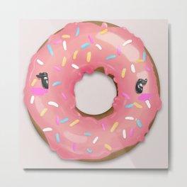 Blinky Doughnut Metal Print