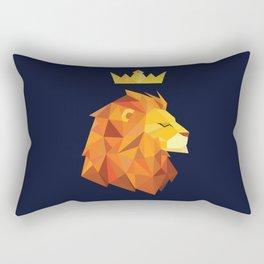 Geometric Lion Rectangular Pillow
