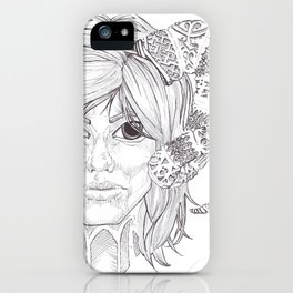 Susan iPhone Case
