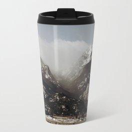 Snow Clouds Travel Mug