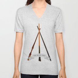 The Silver Trio Unisex V-Neck